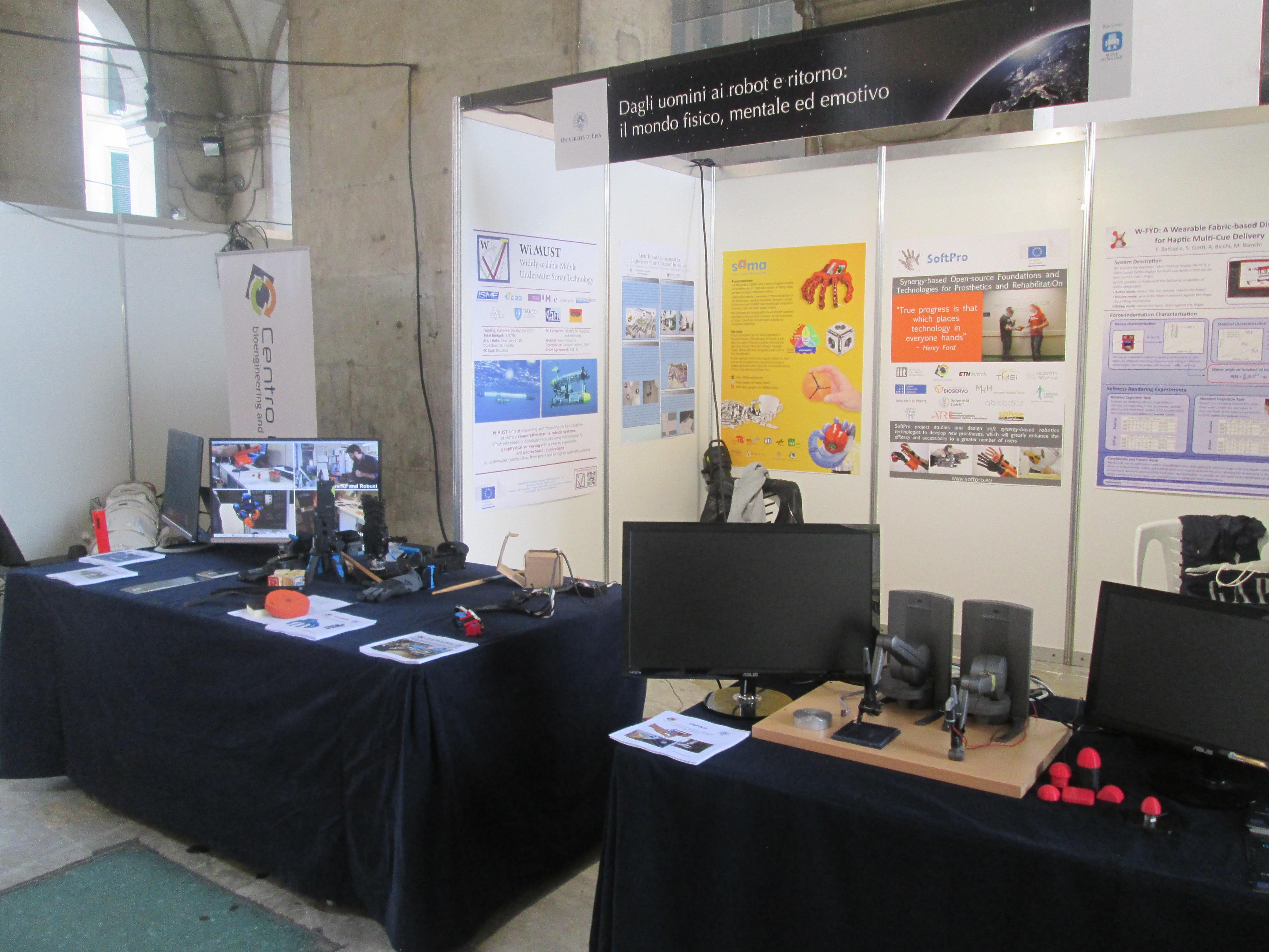 SoftPro @ Researchers Night in Pisa 2016